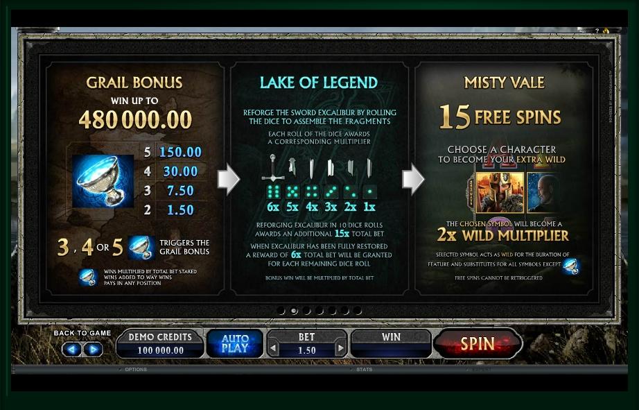 avalon ii slot slot machine detail image 7