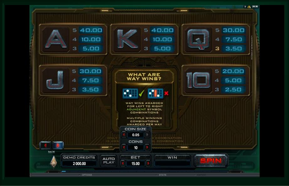 battlestar galactica slot machine detail image 1