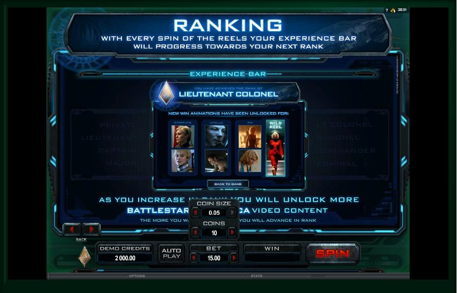 battlestar galactica slot machine detail image 0