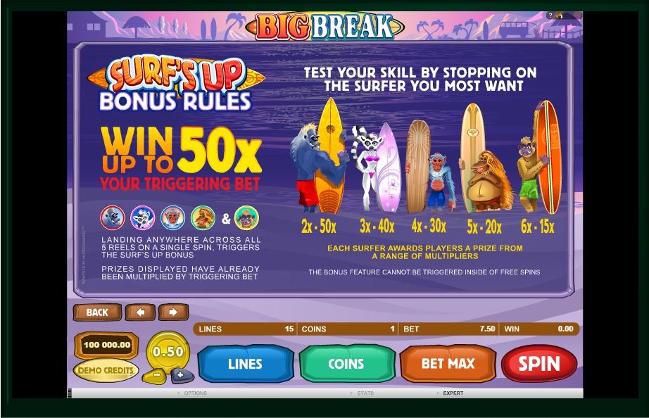 big break slot machine detail image 2