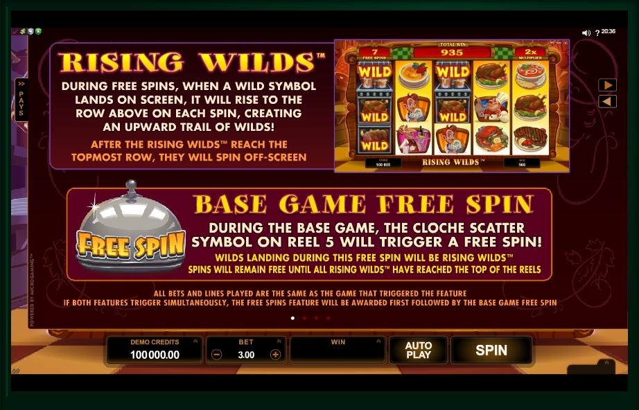 big chef slot machine detail image 3
