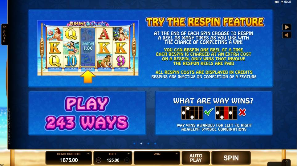 Play manager bikini party slot machine online microgaming ucretsiz lar?