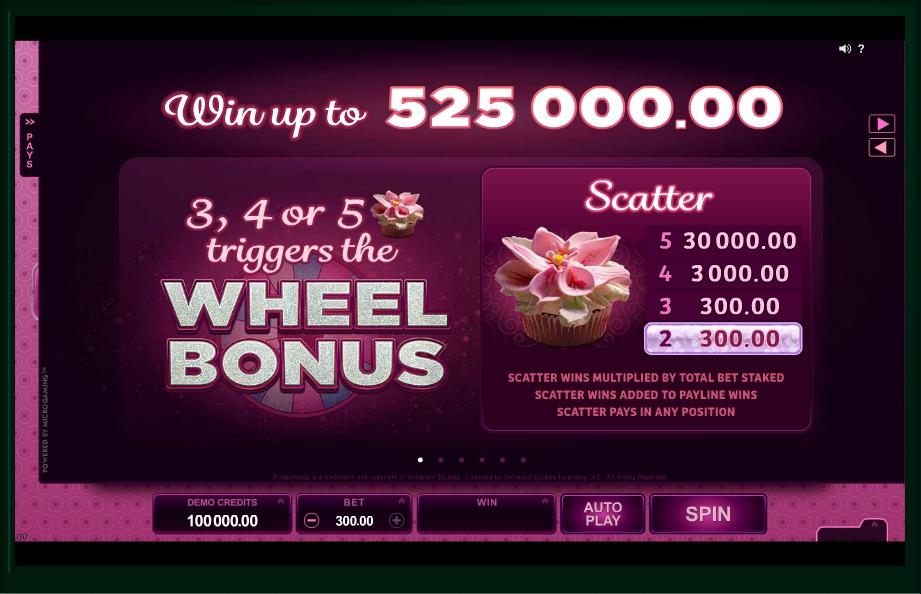 bridesmaids slot machine detail image 6