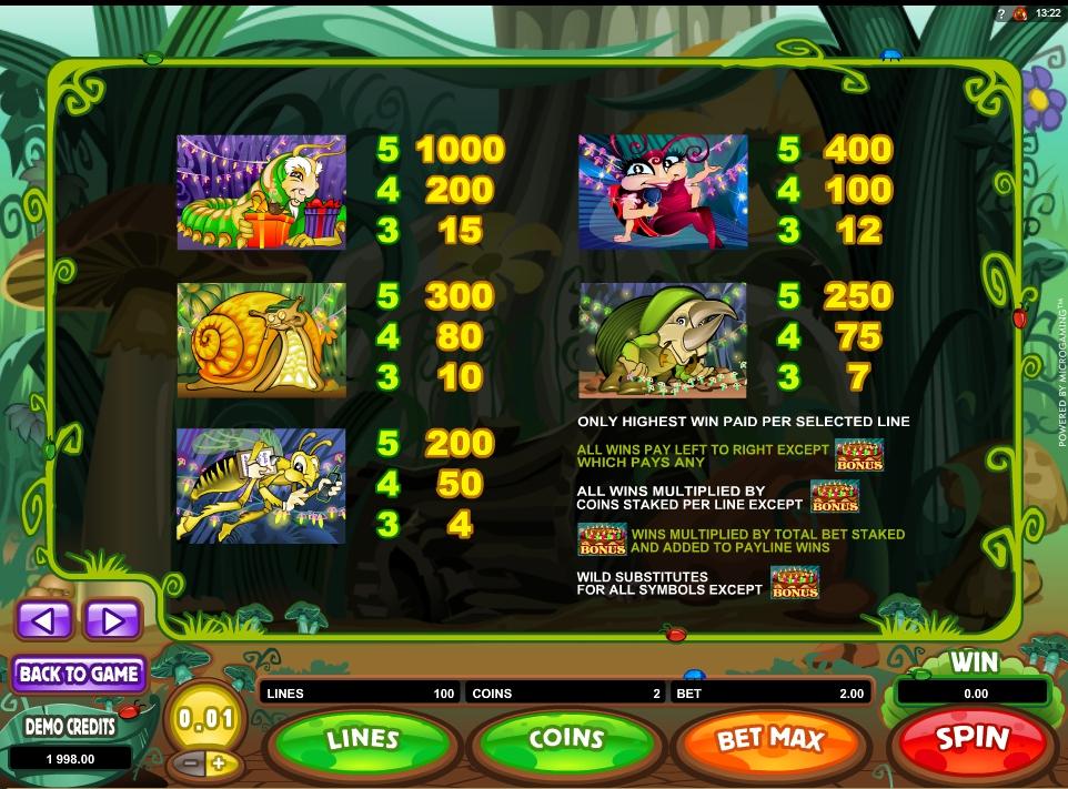 cashapillar slot machine detail image 2