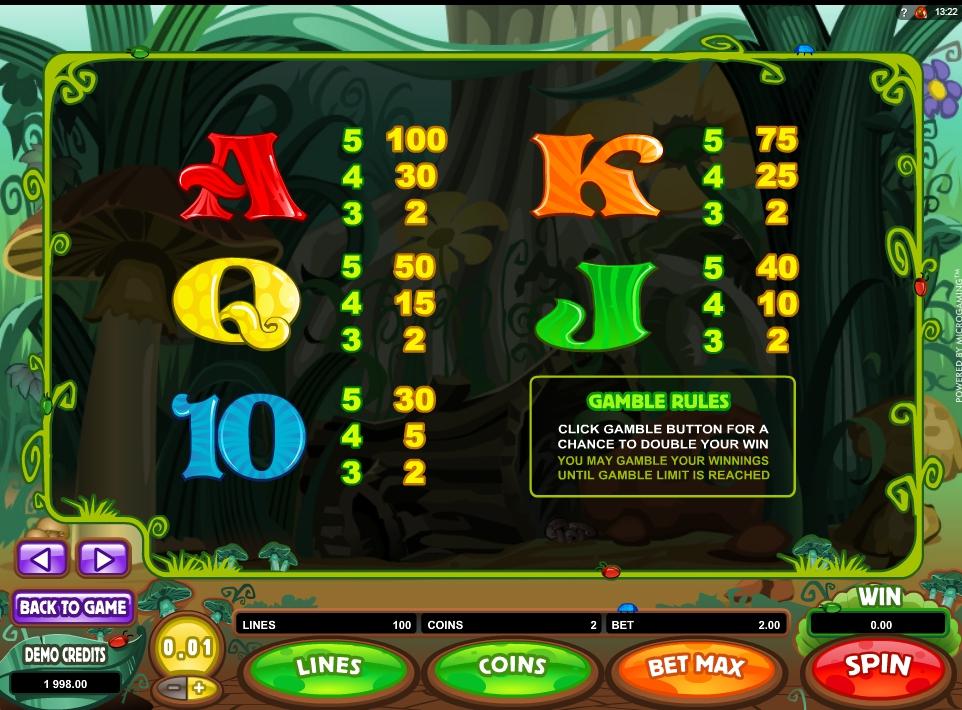cashapillar slot machine detail image 1