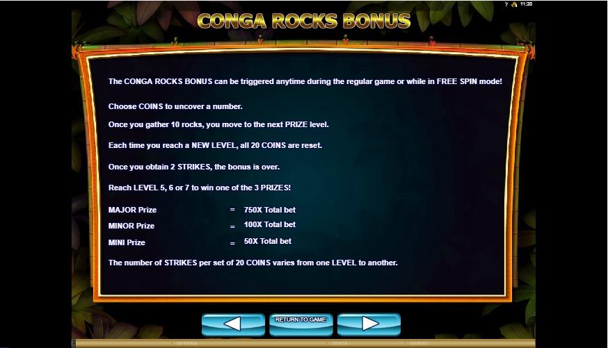 conga party slot machine detail image 1