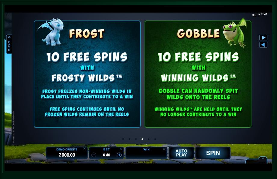 dragonz slot machine detail image 2