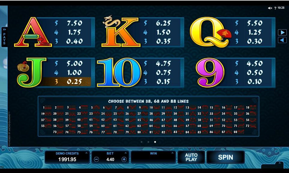 emperor of the sea slot machine detail image 0