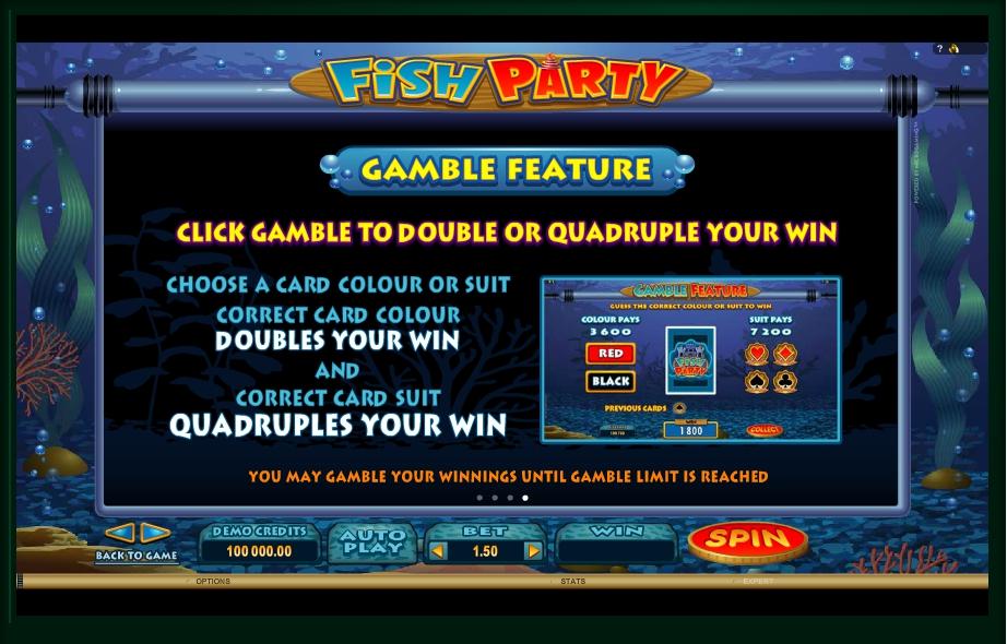fish party slot machine detail image 0