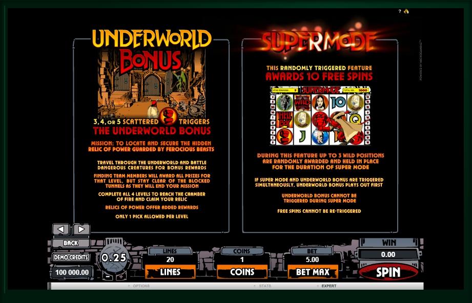 hellboy slot machine detail image 2
