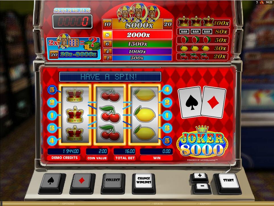 joker 8000 slot machine detail image 0