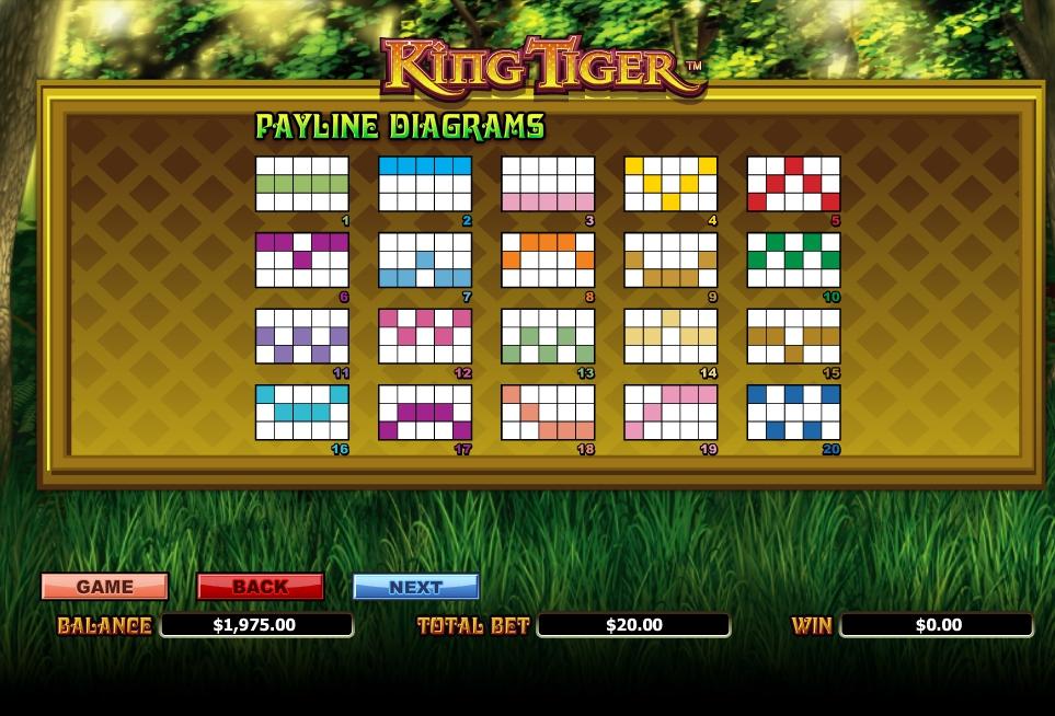 king tiger slot machine detail image 1