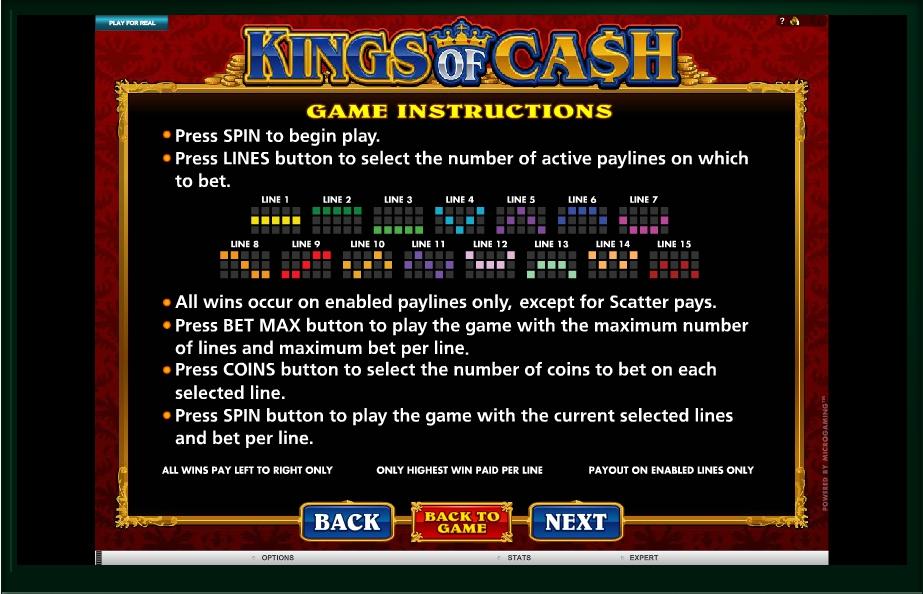 kings of cash slot machine detail image 0