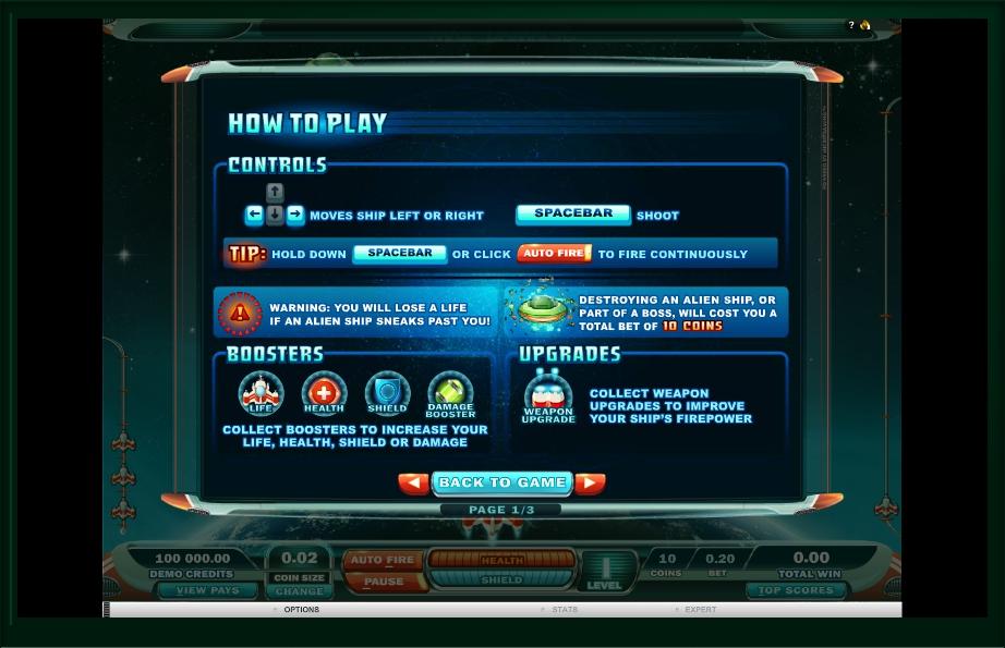 max damage slot machine detail image 2