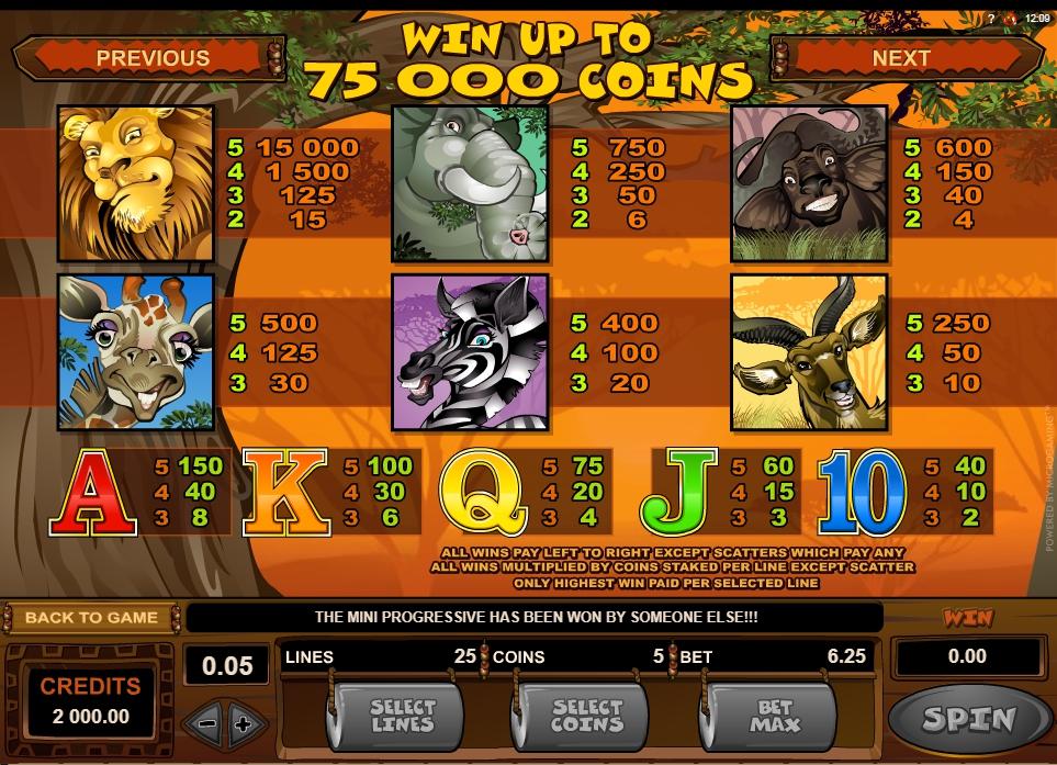 mega moolah isis slot slot machine detail image 3