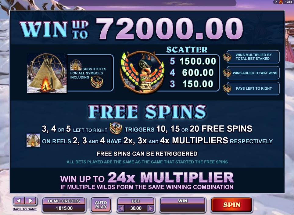 mystic dreams slot slot machine detail image 2