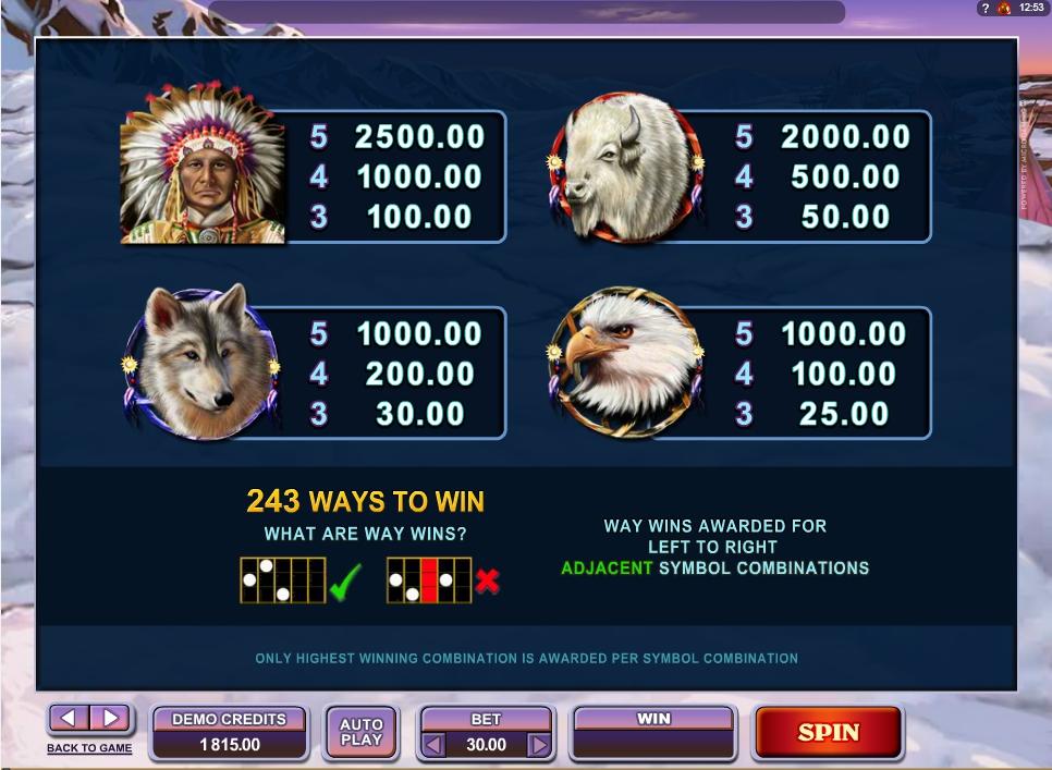 mystic dreams slot slot machine detail image 1