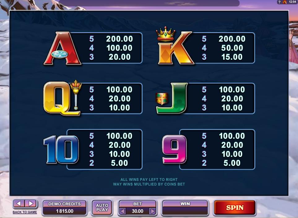 mystic dreams slot slot machine detail image 0