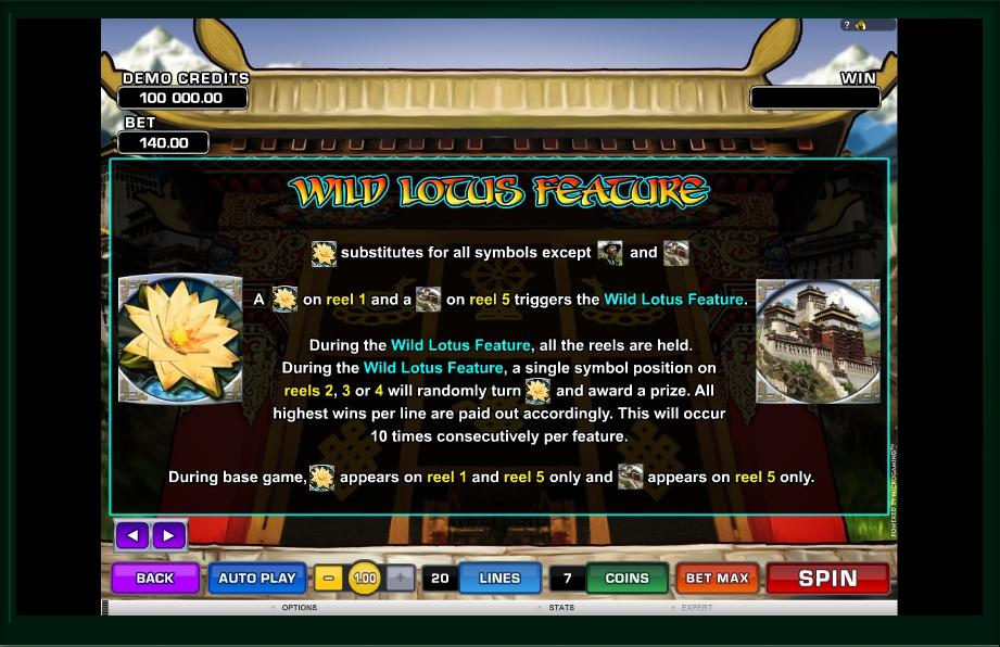 paradise found slot machine detail image 3