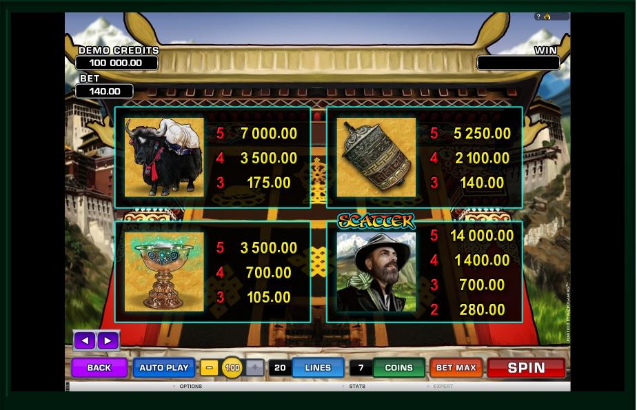 paradise found slot machine detail image 2