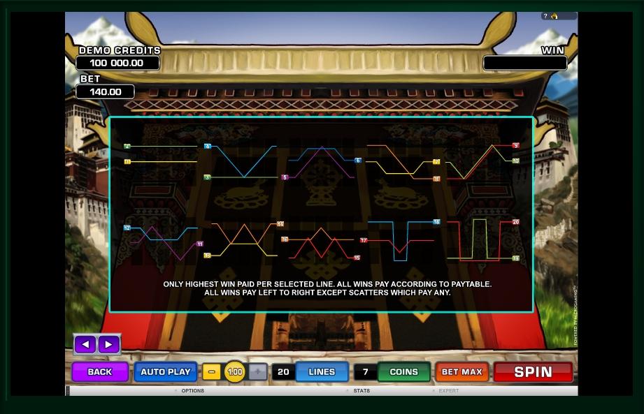 paradise found slot machine detail image 0