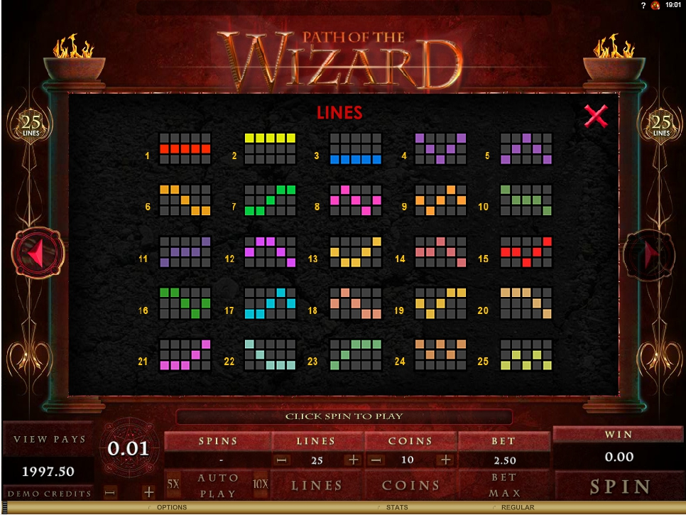 path of the wizard slot machine detail image 0