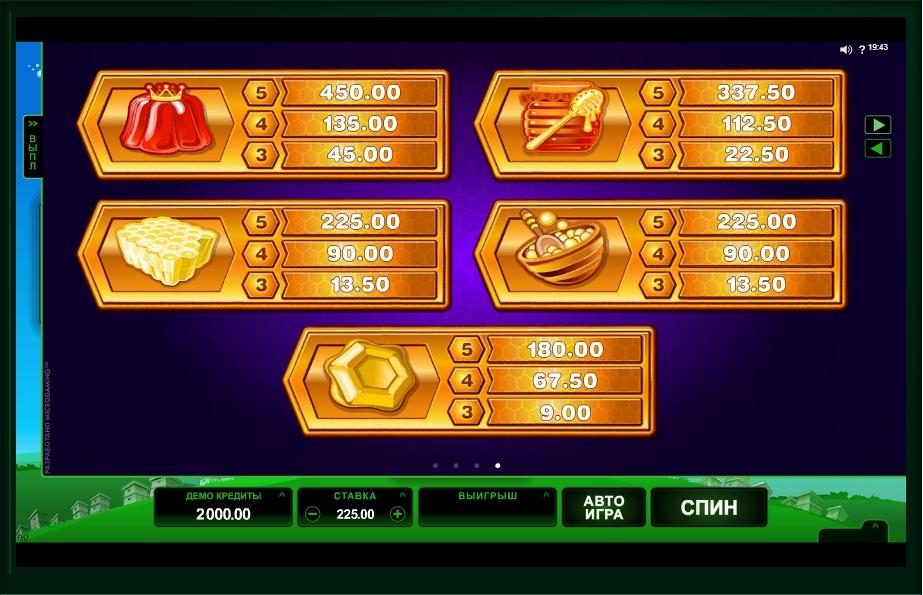 pollen party slot machine detail image 0