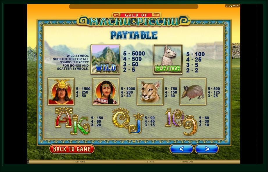 serenity slot machine detail image 7