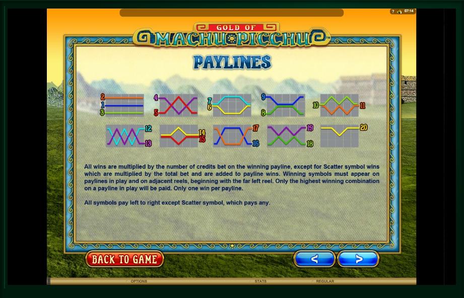 serenity slot machine detail image 6