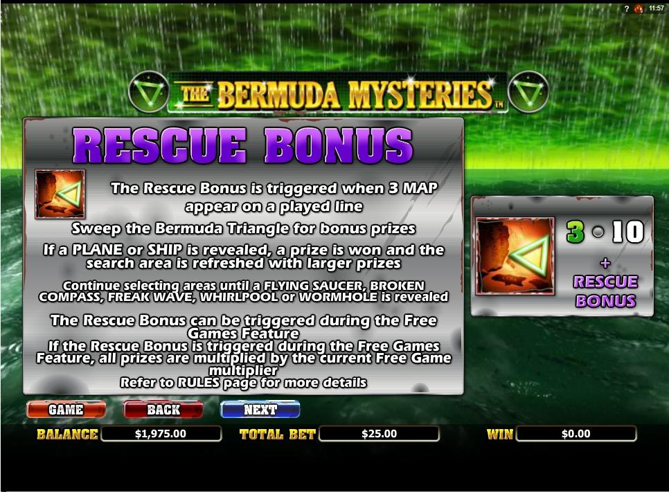 the bermuda mysteries slot slot machine detail image 6