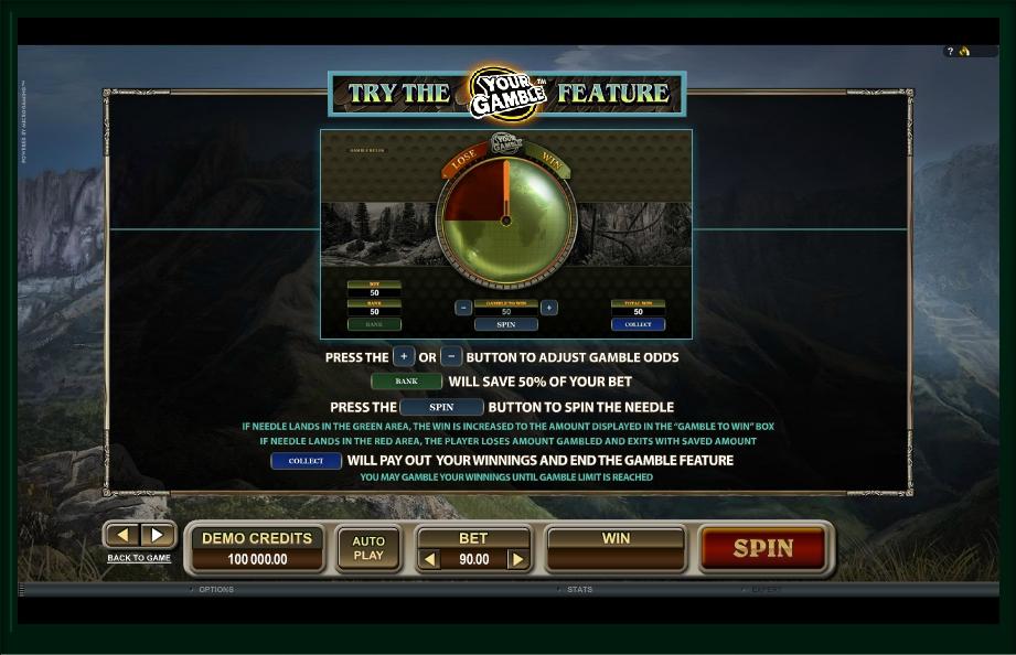 untamed crowned eagle slot machine detail image 2