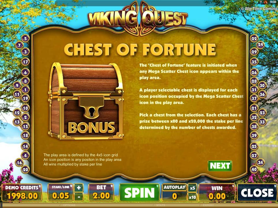 vikings quest slot machine detail image 1