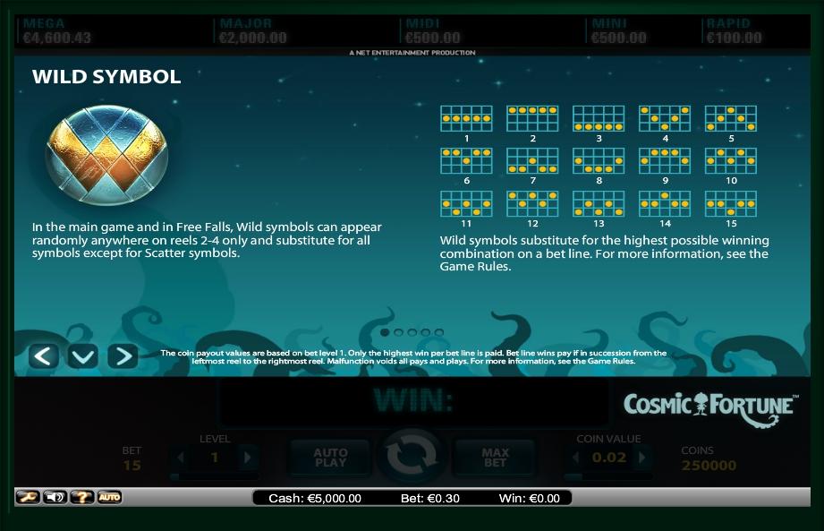 cosmic fortune slot machine detail image 0