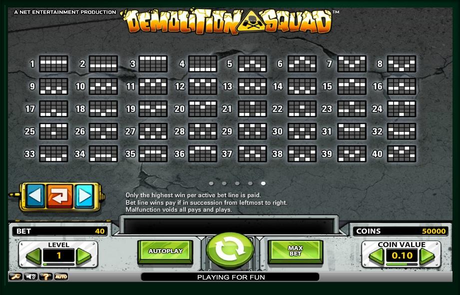 Demolition Squad Slot Machine