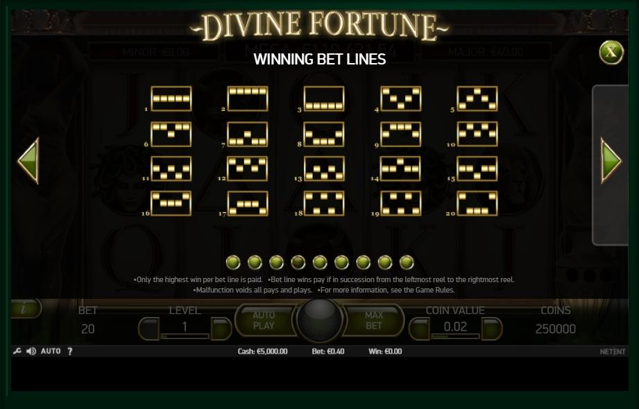 divine fortune slot machine detail image 5