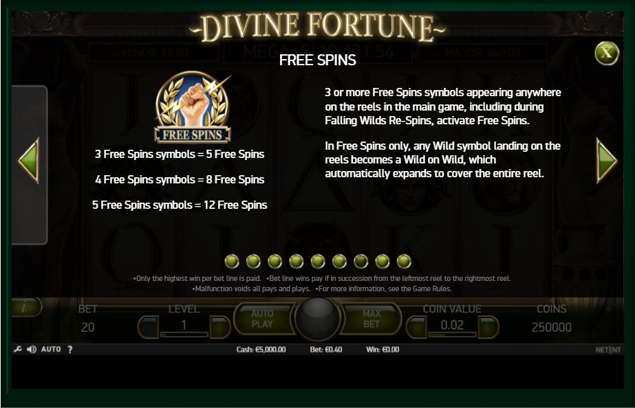 divine fortune slot machine detail image 2