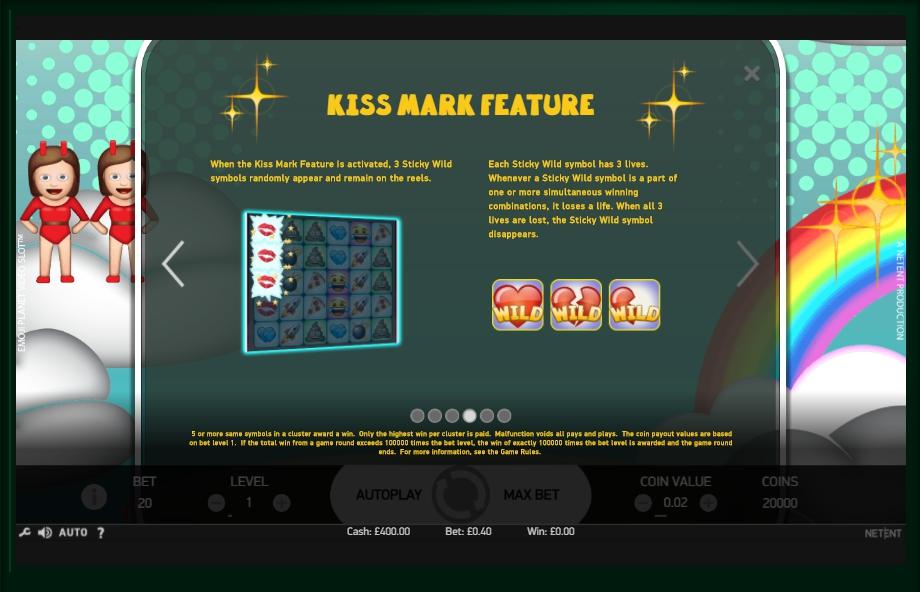 EmotiCoins No Download Slot Machine