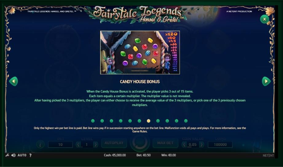 Fairytale Legends: Hansel & Gretel Slot Machine