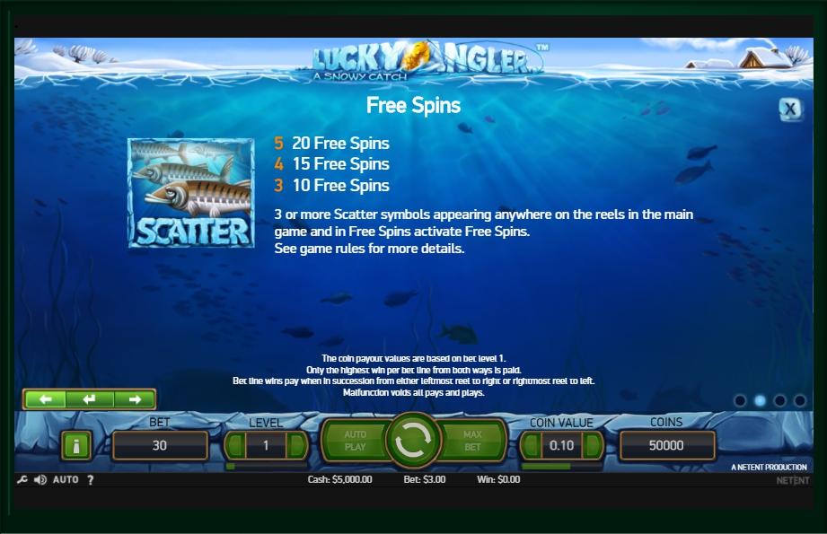 lucky angler slot machine detail image 2