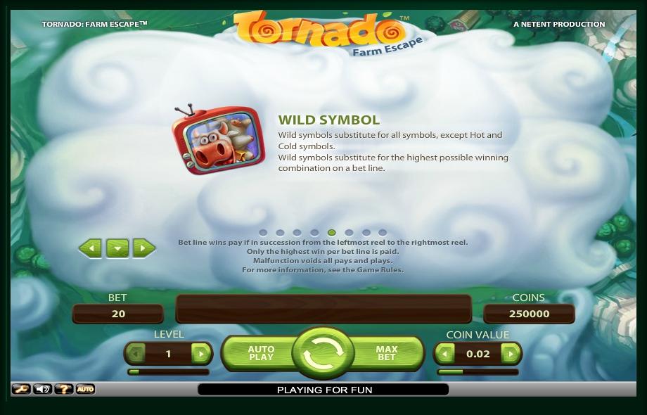 tornado: farm escape slot machine detail image 3