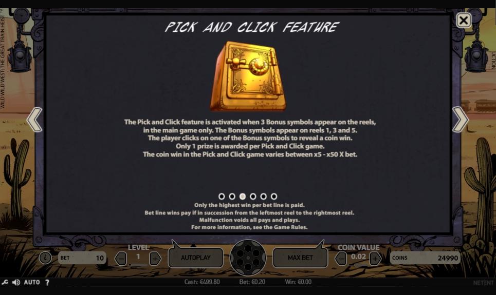 Wild Wild West: The Great Train Heist Demo & Slot Machine Review