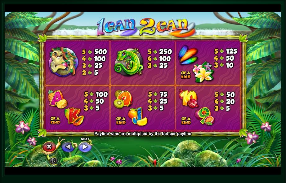 2Can Slot Machine