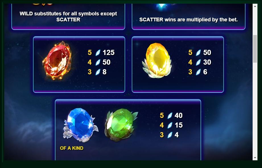 Lightning Gems Free Play Slot Machine