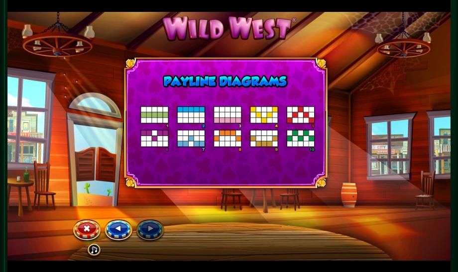 wild west slot machine detail image 0