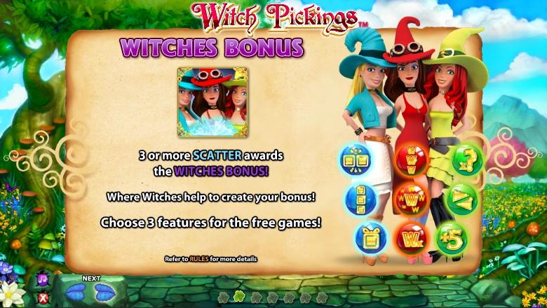 Witch Pickings Slot Machine