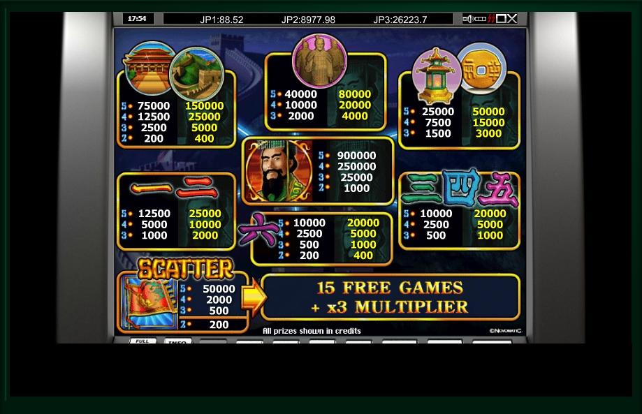 emperors china slot machine detail image 0