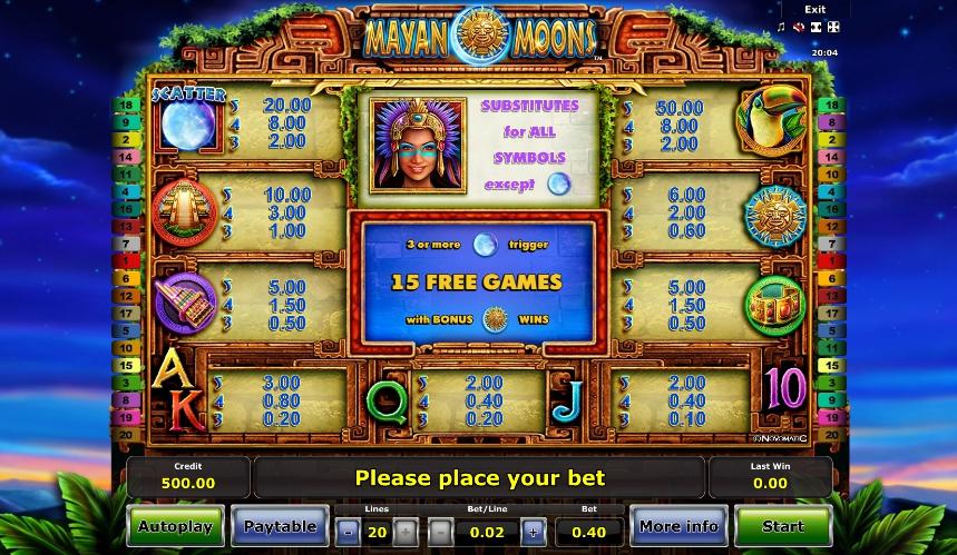 Spiele Golden Mayan - Video Slots Online