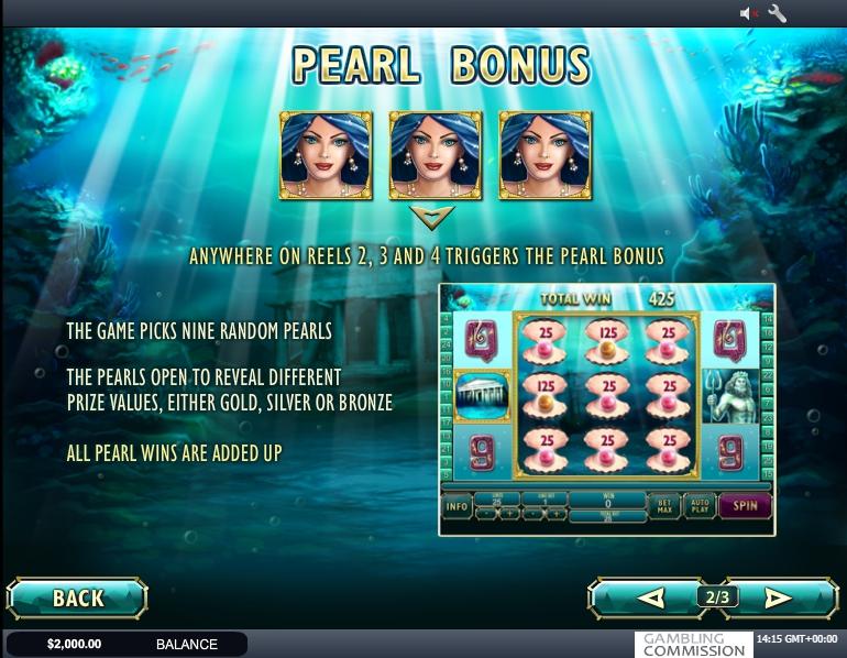 Queen Of Atlantis Slot Machine Online