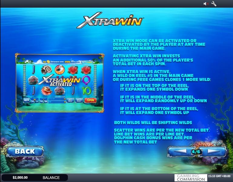 dolphin cash slot machine detail image 2