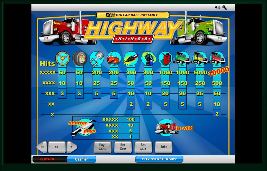 Free Slot Highway King